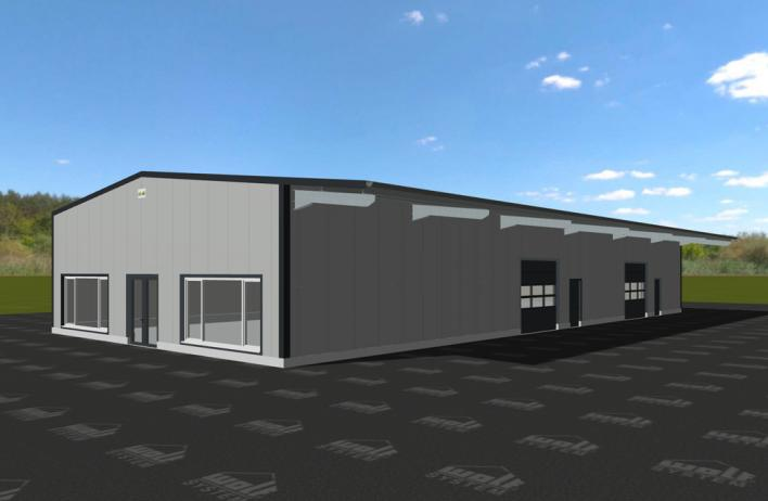 gewerbehallen gewerbebau produktionshallen lagerhallen. Black Bedroom Furniture Sets. Home Design Ideas